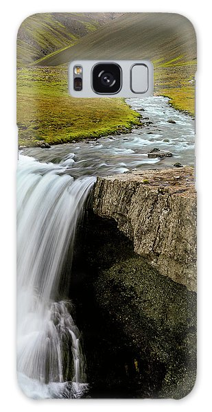 Ecosystem Galaxy Case - Water Running From Glacier by Tom Norring