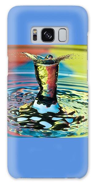 Water Splash Art Galaxy Case