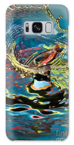 Water Splash Exploding Galaxy Case