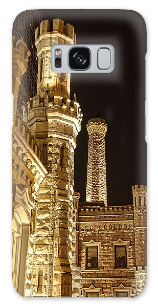 Water Tower At Night Galaxy Case
