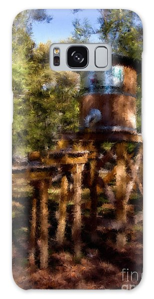 Water Tower Galaxy Case by Ken Frischkorn
