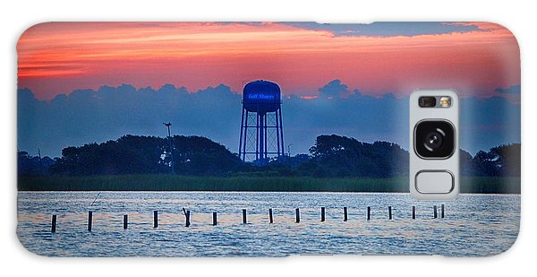 Water Tower Galaxy Case by Michael Thomas
