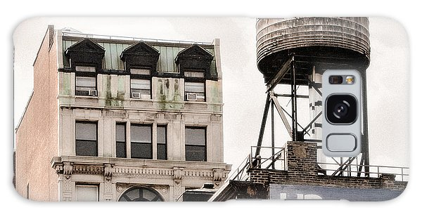 Galaxy Case featuring the photograph Water Towers 14 - New York City by Gary Heller