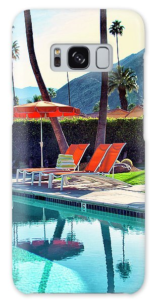 Summer Galaxy Case - Water Waiting Palm Springs by William Dey