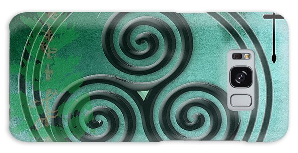 Watercolor Ailim Symbol Galaxy Case