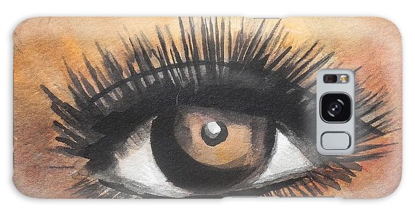 Watercolor Eye Galaxy Case