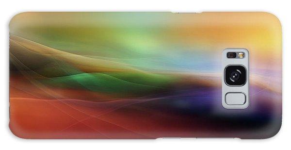 Soft Galaxy Case - Watercolor Lines by Heidi Westum
