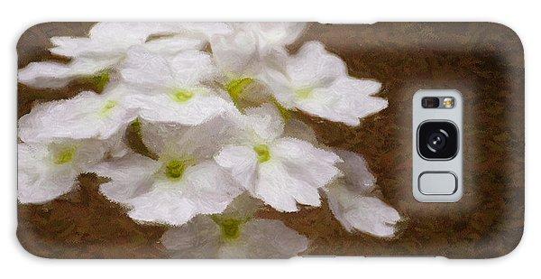 Watercolor Of Daisies Galaxy Case
