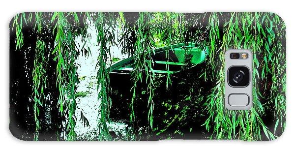 Watercolour Boat Galaxy Case