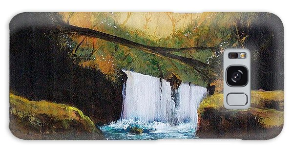 Waterfall 1 Galaxy Case