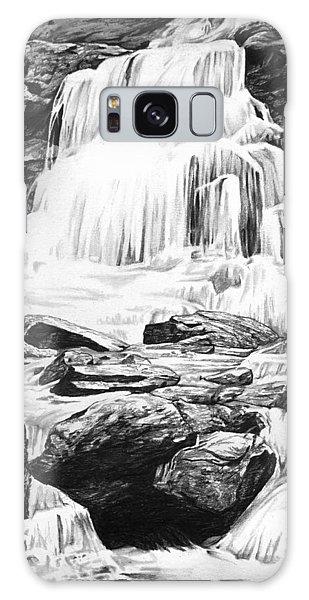 Plants Galaxy Case - Waterfall by Aaron Spong