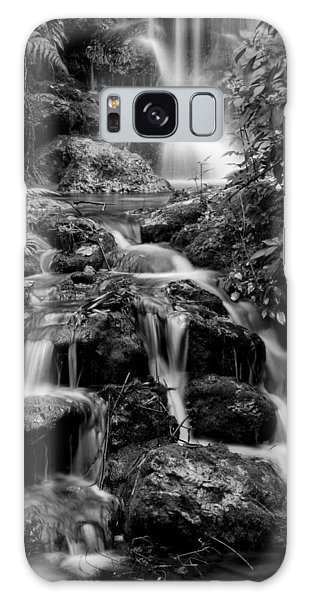 Waterfall At Rainbow Springs Galaxy Case by Beverly Stapleton