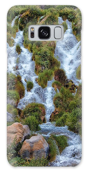 Waterfall Down Galaxy Case