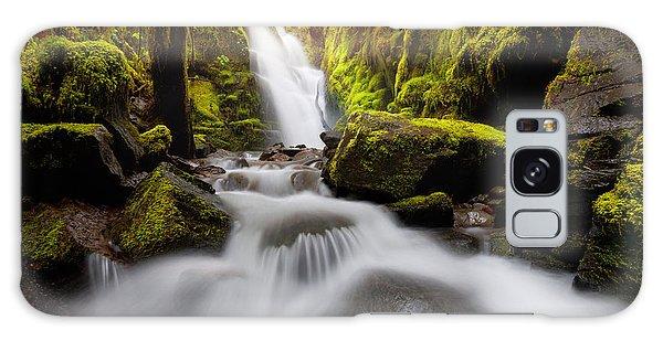Waterfall Glow Galaxy Case