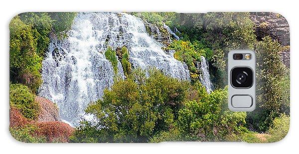 Waterfall In Idaho Galaxy Case