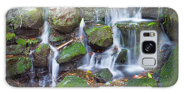 Waterfall In Marlay Park Galaxy Case by Semmick Photo