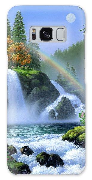 Rainbow Galaxy Case - Waterfall by Jerry LoFaro