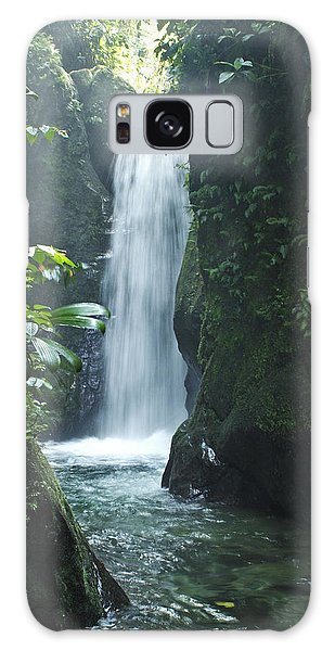 Waterfall Galaxy Case by Lana Enderle