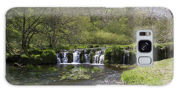 Waterfall Lathkill Dale Derbyshire Galaxy Case