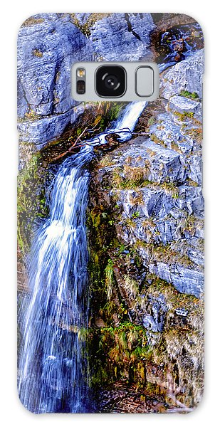 Waterfall-mt Timpanogos Galaxy Case