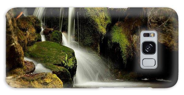 Waterfall - Naramata Dsc0043 Galaxy Case by Guy Hoffman