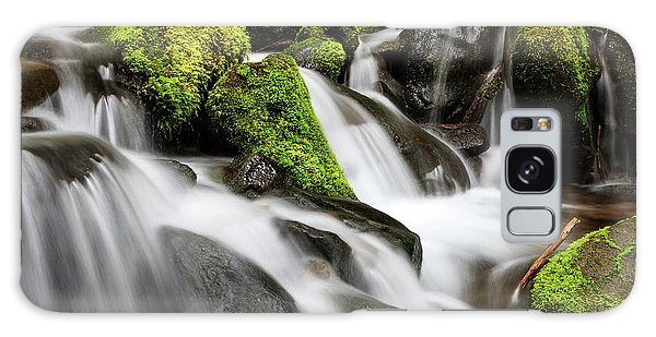Ecosystem Galaxy Case - Waterfall Olympic National Park by Tom Norring