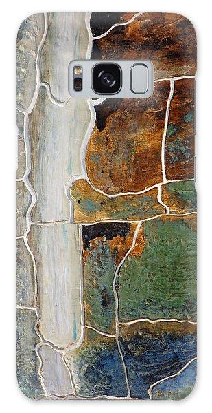 Waterfall Slate Galaxy Case by Holly Blunkall