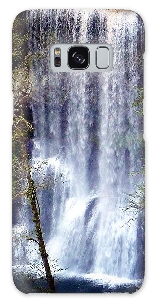 Waterfall South Galaxy Case by Susan Garren
