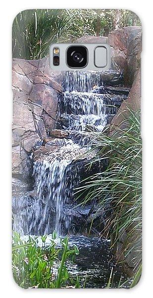 Waterfall Steps Galaxy Case