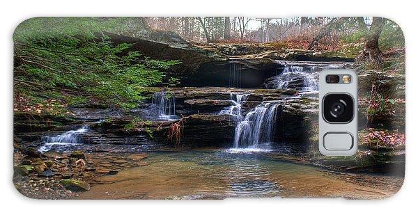Waterfalls Cascading Galaxy Case