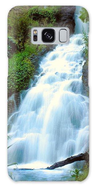Waterfalls In Golden Gate Park Galaxy Case