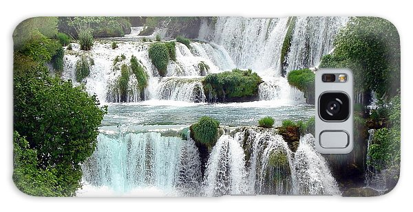 Waterfalls Of Plitvice Galaxy Case