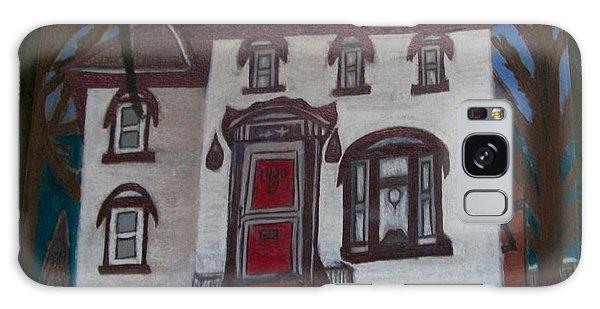 Historic 7th Street Home In Menominee Galaxy Case by Jonathon Hansen