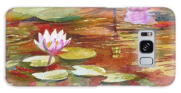 Waterlilies Galaxy Case