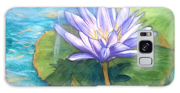 Waterlily 2 Galaxy Case by Shelley Overton