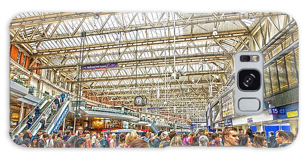 Waterloo Station Galaxy Case by Andrew Middleton