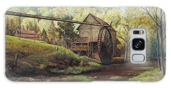 Watermill At Daybreak  Galaxy Case