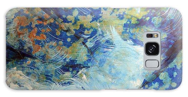 Water's Edge Flow Galaxy Case