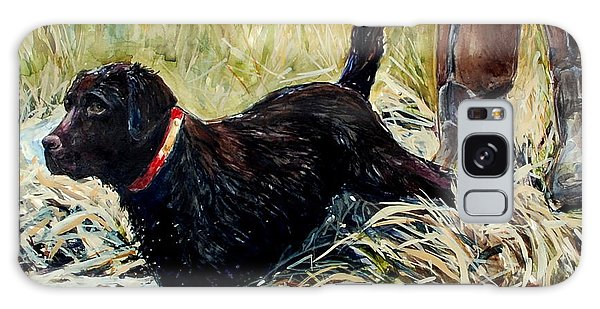 Chocolate Lab Galaxy Case - Water's Edge by Molly Poole