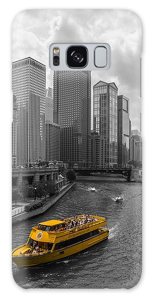 Chicago Art Galaxy Case - Watertaxi by Clay Townsend