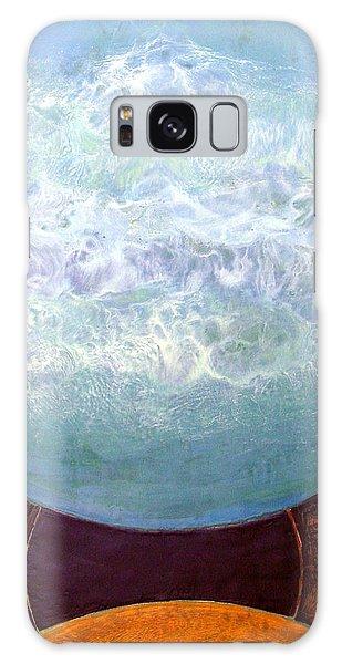 Waterworld Galaxy Case by Carolyn Goodridge