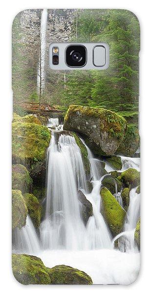 Basalt Galaxy Case - Watson Creek And Falls, Oregon by William Sutton