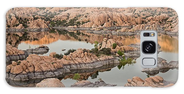 Watson Lake Sunset Galaxy Case