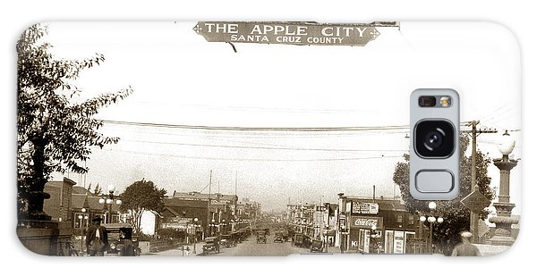 Watsonville California  The Apple City Circa 1926 Galaxy Case