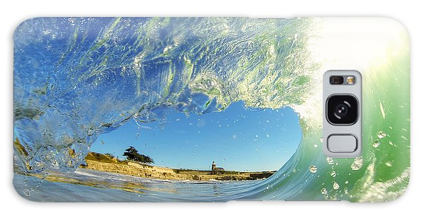 Wave And Lighthouse 3 Galaxy Case