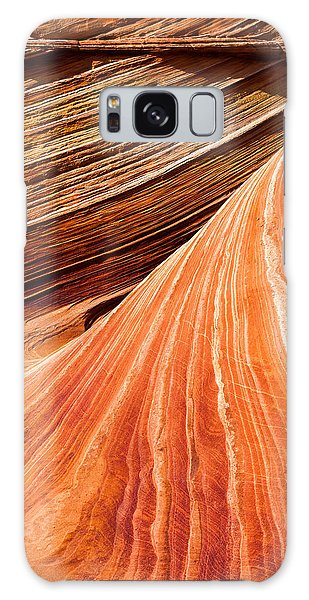 Coyote Galaxy Case - Wave Lines by Chad Dutson