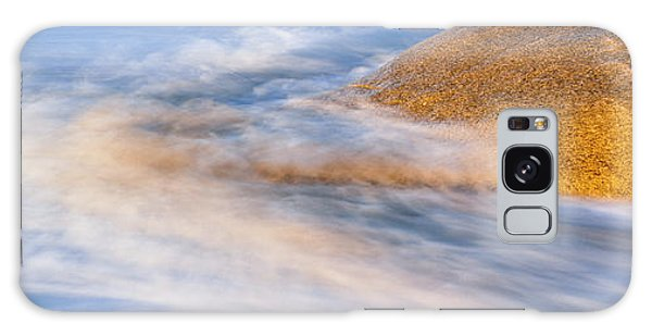Breaking Dawn Galaxy Case - Wave Striking A Granite Boulder, Lands by Panoramic Images