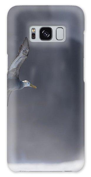 Waved Albatross In Flight Galaxy Case