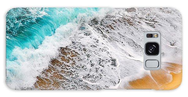 Waves Abstract Galaxy Case by Silvia Ganora