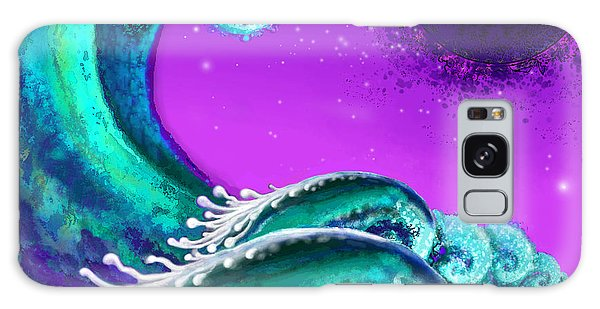 Waves Galaxy Case